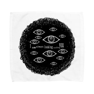 貴方をずっと見守っています。 Towel handkerchiefs