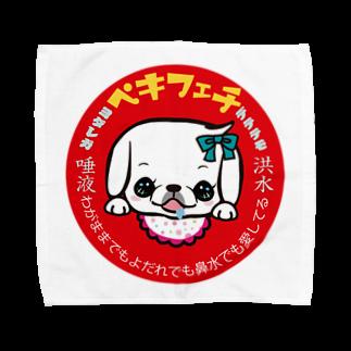 ペチコートのペキフェチ(ヨダレ) Towel handkerchiefs
