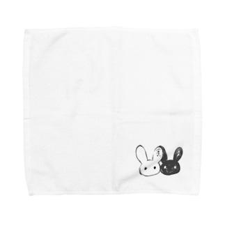 二兎。 Towel handkerchiefs