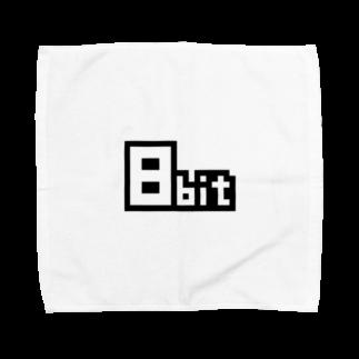 ponco2の8bit Towel handkerchiefs