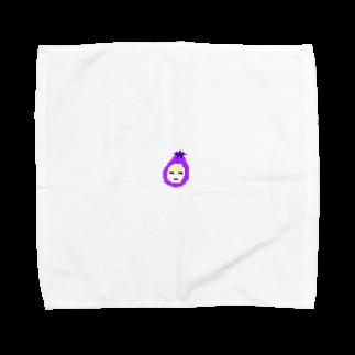 ニッチすぎて、誰も買わない店のおナス透過ver Towel handkerchiefs
