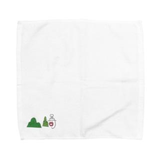 山﨑 Towel handkerchiefs