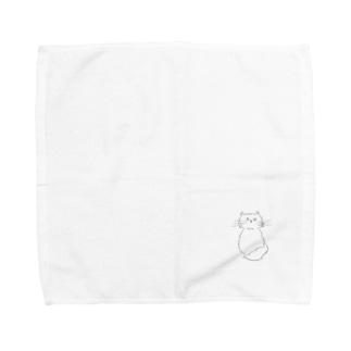 うちの猫 Towel handkerchiefs