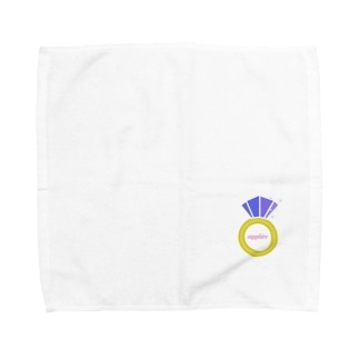 誕生石シリーズ(9月・サファイア) Towel handkerchiefs