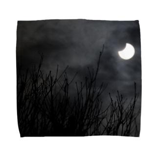 部分日食2019 Towel handkerchiefs