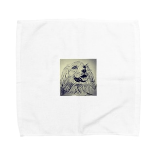 ゴールデンレトリーバー Towel handkerchiefs