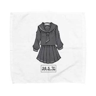 冬服セーラー服(黒) Towel handkerchiefs