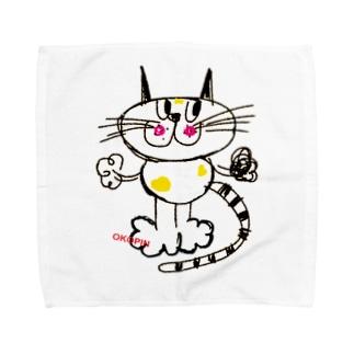 キャットちゃん  Towel handkerchiefs
