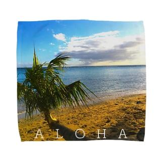 THE BEACH Towel handkerchiefs