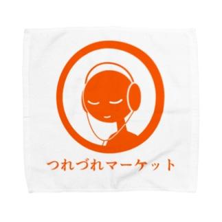 つれづれマーケット公式グッズ Towel handkerchiefs