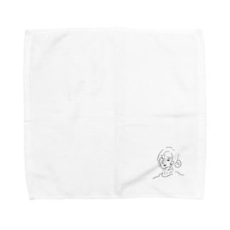 キャリアウーマンになりたくて Towel handkerchiefs