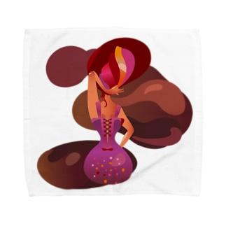 チョコレートの女王 Towel handkerchiefs