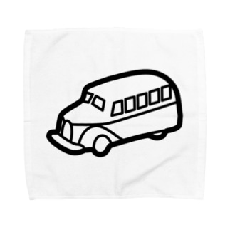 retro-Bus Towel handkerchiefs