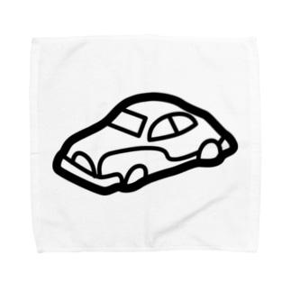 retro-Car Towel handkerchiefs