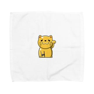 @ねこ Towel handkerchiefs