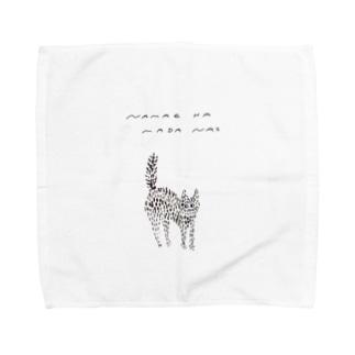 わがはいは猫である Towel handkerchiefs