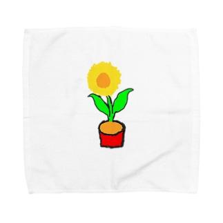 tt-himawari Towel handkerchiefs