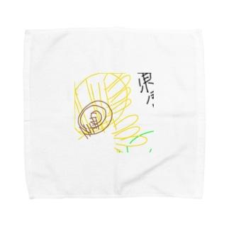 ht-himawari Towel handkerchiefs