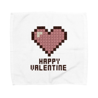 Happy Valentine 02 B Towel handkerchiefs