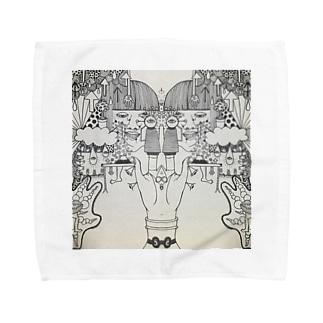糸巻き1 Towel handkerchiefs