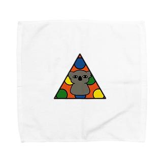 イノセントな目のコアラ Towel handkerchiefs