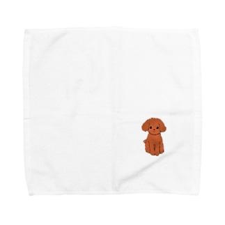 わんっ Towel handkerchiefs