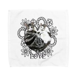ビュートとライクのLOVEスタイル Towel handkerchiefs