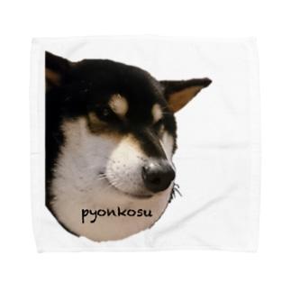 マムシ柴犬 Towel handkerchiefs