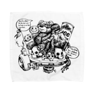 Are you bear? Towel handkerchiefs