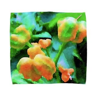 黄い実 Towel handkerchiefs