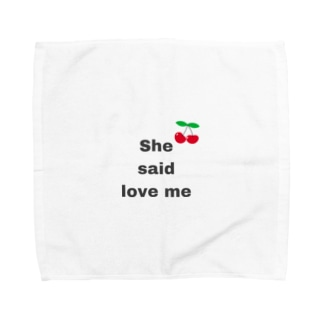 shesaidloveme Towel handkerchiefs