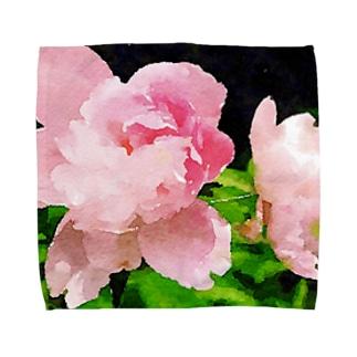 大輪の花 Towel handkerchiefs
