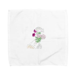 毎日に彩を Towel handkerchiefs