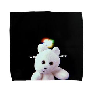 くまきちたおる Towel handkerchiefs