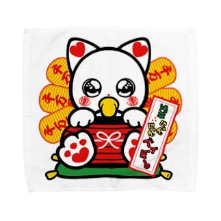 浅草にゃんにゃんベイビー2 Towel handkerchiefs