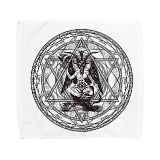 バフォメット Towel handkerchiefs