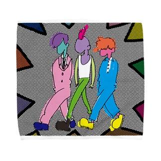 かっこいい三人衆 Towel Handkerchief