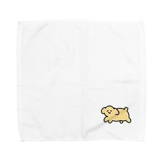 やわらかいいぬ Towel handkerchiefs