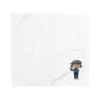 えーとね Towel handkerchiefs