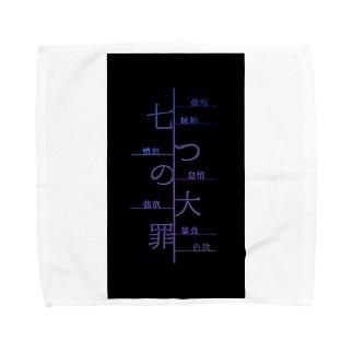 七つの大罪/NANATUNOTAIZAI Towel handkerchiefs