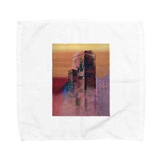 たてもの Towel handkerchiefs