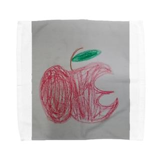 ハッピーアップル Towel handkerchiefs