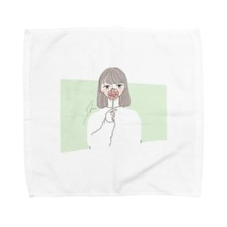 ワタシ Towel handkerchiefs