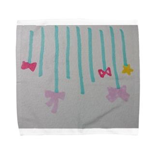 リボンの雨 Towel handkerchiefs