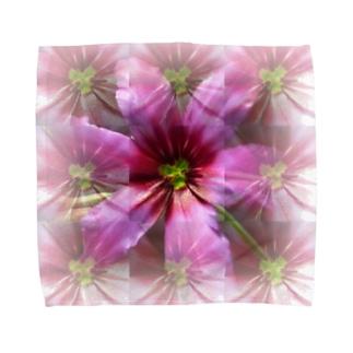 紫の桜餅の香り Towel handkerchiefs