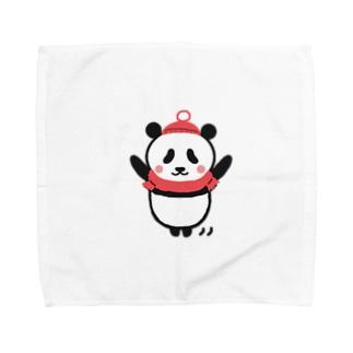 ボクパンダ「お元気ですか」 Towel handkerchiefs