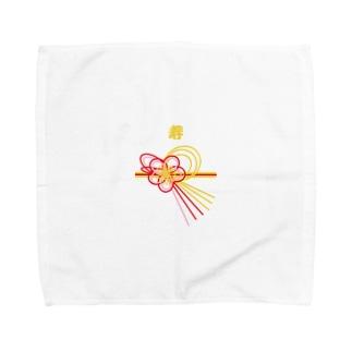 寿 お祝 Towel handkerchiefs