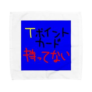 Tポイントカード持ってない Towel handkerchiefs