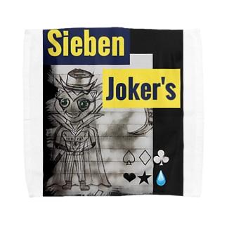 SiebenJoker'sグッズ Towel handkerchiefs