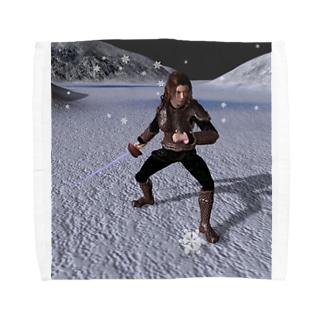 吹雪く戦闘 Towel handkerchiefs